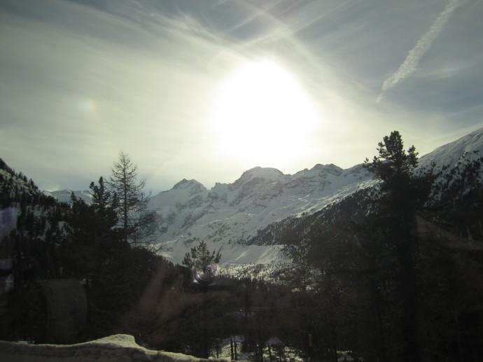 St. Moritz White Turf Horse Races