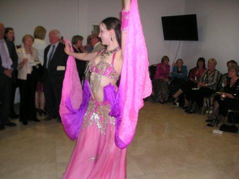 Belly Dancer, Egypt, Egyptian Ambassador, Charity Event, American Women's Club of Dublin