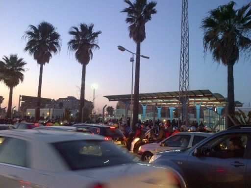 Border Queue, Spain, Spanish, Immigration, Customs