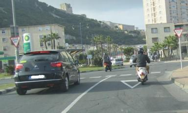 Gibraltar, Driving, Differently