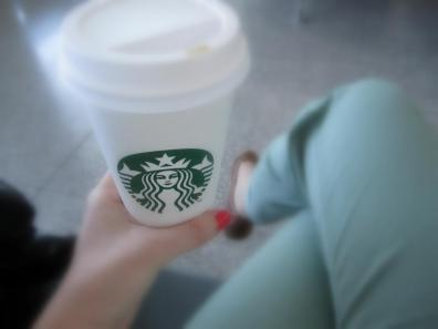 Malaga, Airport, Cafe, Latte, Vanilla, Grande, Spain, Dublin