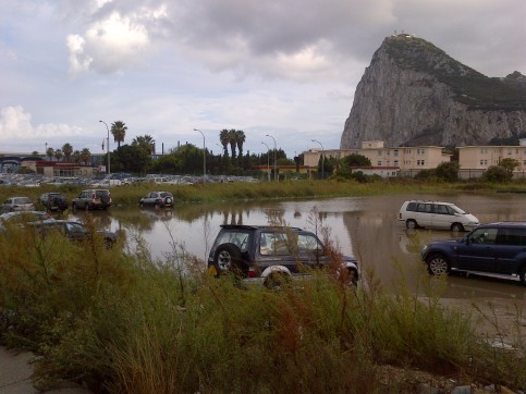 Gibraltar, Spain, Weather, Rain