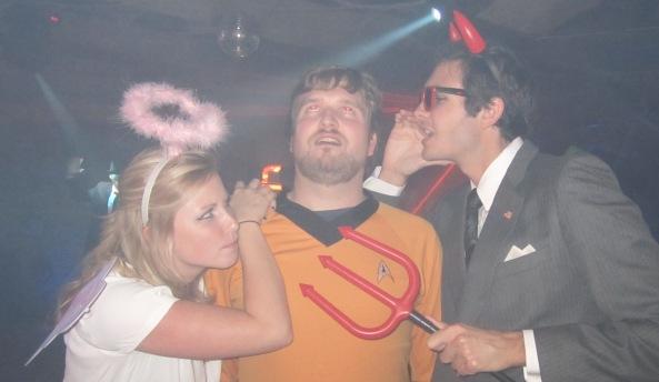 Halloween, Costume, Devil, Angel