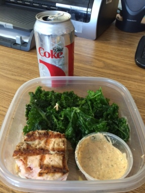 Central Market, Kale, Quinoa, Healthy Living, Salmon, Salad, Food
